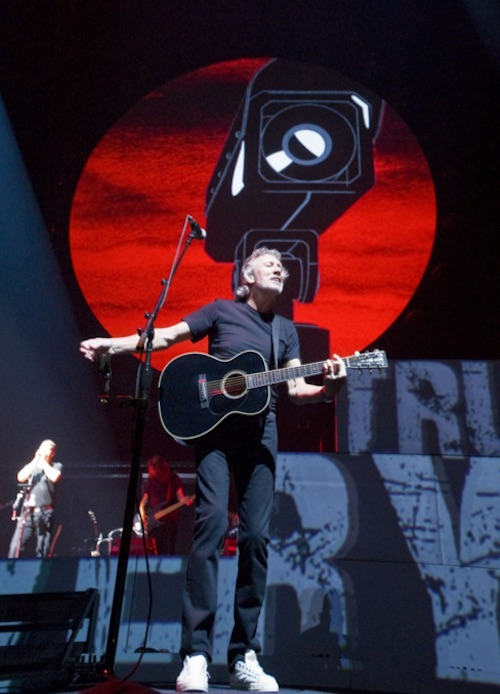Roger Waters performing The Wall in Toronto