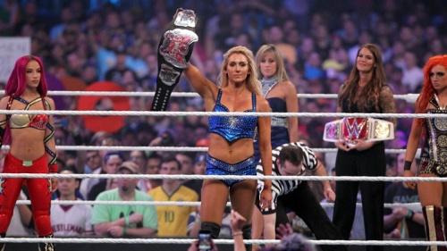 The women of wrestling