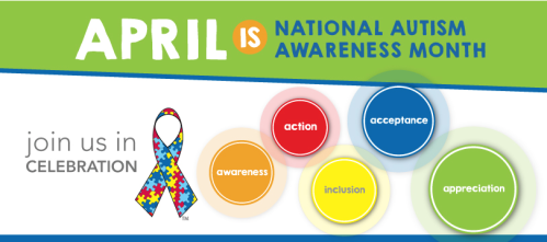 Autism Awareness Month is April