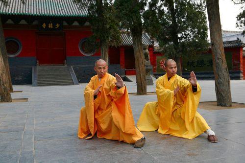 Shaolin Temple Grandmasters