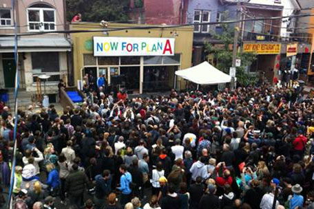 The Tragically Hip in Kensington Market