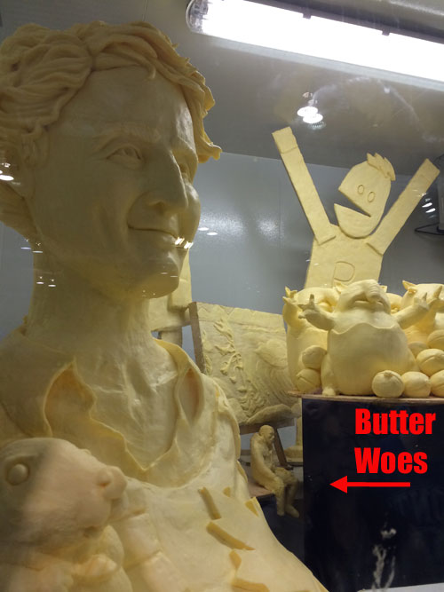 Butter Woes. Churning up the butter with my woes.