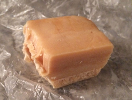 Salted Caramel Fudge. Hitting up the fudge booth is one of my C.N.E. vices. The salted caramel may be the tastiest, texturally most awesome one I've tried yet. 8.3/10