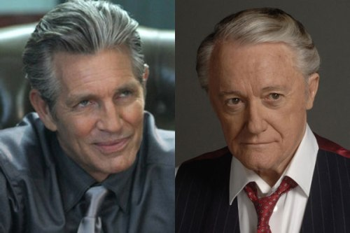 Eric Roberts and Robert Vaughn