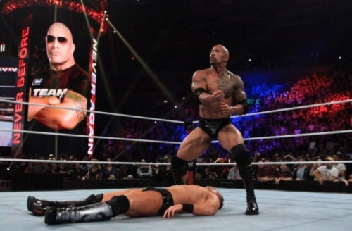 The Rock starts the people's elbow