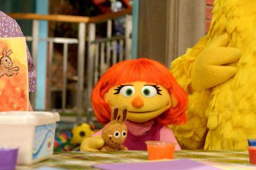 Julia, Sesame Street's autistic Muppet