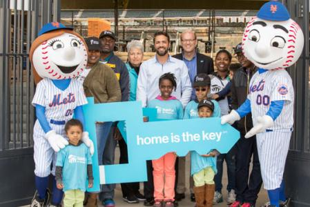 Habitat For Humanity's Home Is The Key campaign.