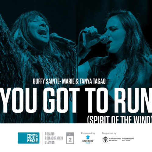 Buffy Sainte-Marie and Tanya Tagaq.