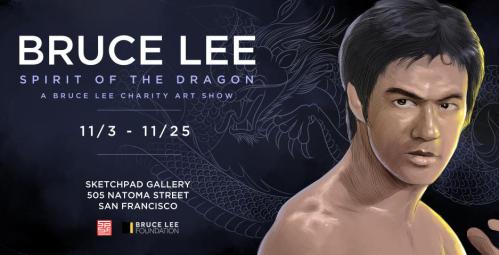 Bruce Lee art show
