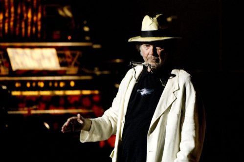 Neil Young at Massey. (Copped this pic from Toronto Star.)