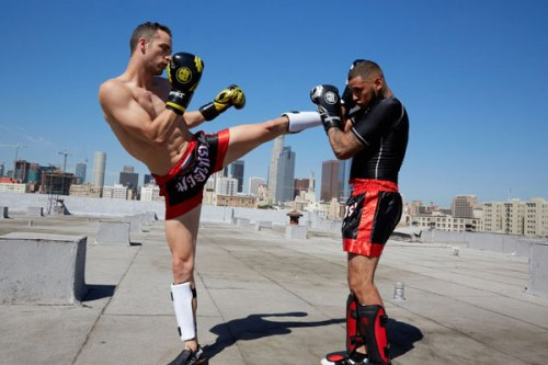 MMA kicks