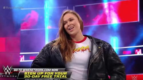 Ronda Rousey is a professional wrestler now