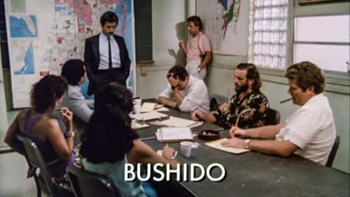 "The ""Bushido"" episode of Miami Vice"