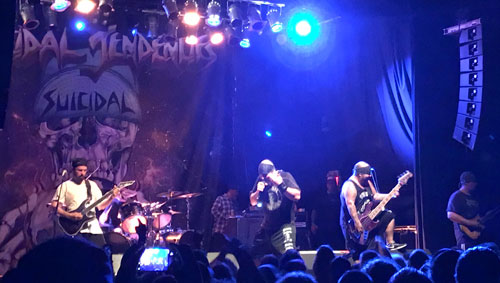 Suicidal Tendencies live in Toronto.
