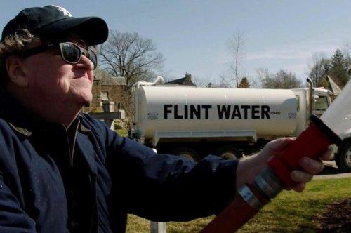 Michael Moore in Fahrenheit 11/9