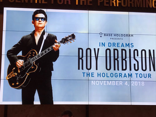 Roy Orbison In Dreams hologram show